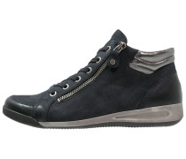 Sneaker high blau/gun