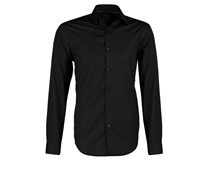 CANNES FITTED Businesshemd black