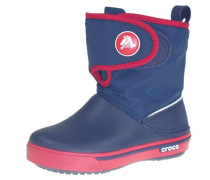 CROCBAND II.5 GUST Stiefelette navy/red