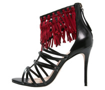 LUX High Heel Sandaletten black