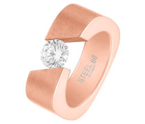 Ring - rosegold-coloured