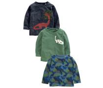 3 PACK - Sweatshirt - blue
