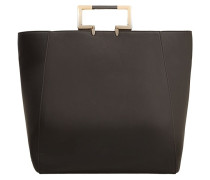 CAROLINE Shopping Bag black