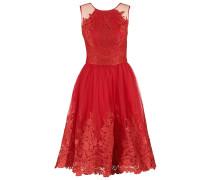 LEONA Cocktailkleid / festliches Kleid red