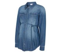 Bluse medium blue denim