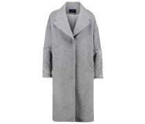 Wollmantel / klassischer Mantel gris moyen