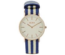 Uhr nautical blue/antique white
