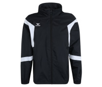 CLASSIC TEAM Regenjacke / wasserabweisende Jacke black/white