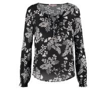 Bluse black/white