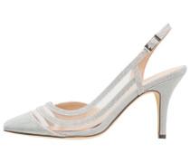 High Heel Pumps - plata