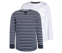 2 PACK Langarmshirt navy blazer/white