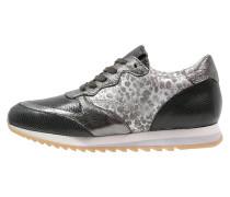 CLIP Sneaker low nero/inox/corda