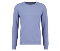 Strickpullover - light blue melange