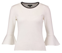 SCALLOP Strickpullover ivory