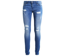 LOKA Jeans Slim Fit fripe destroy