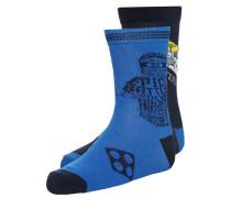 NINJAGO 2 PACK Socken blue