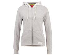 SUE - Sweatjacke - light grey melange