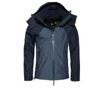EMBOSS - Übergangsjacke - light navy marl/dark navy marl/black