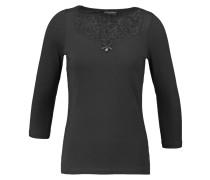 NOON Langarmshirt black