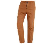 Stoffhose - brown