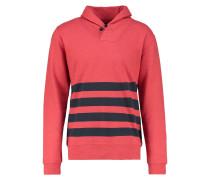 Sweatshirt red/navy