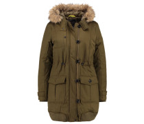 Parka - golden olive green