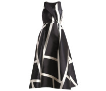 AINE Maxikleid black/cream
