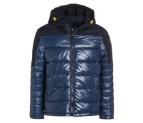 Winterjacke dark denim blue