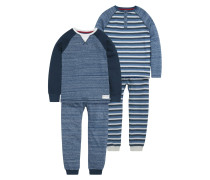 2 PACK SET Pyjama blue