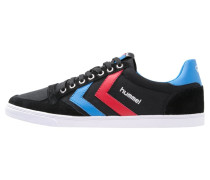 SLIMMER STADIL - Sneaker low - black/blue/red