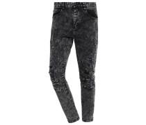 Jeans Slim Fit acid washed black