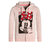 MINIE MOUSTACHE Sweatjacke rose