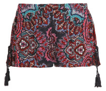 Shorts red navy mix