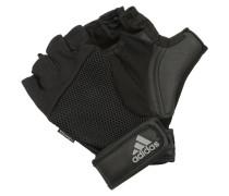 Fingerhandschuh black/silver