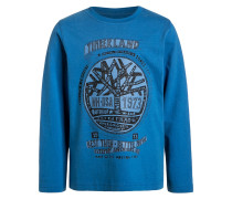 Langarmshirt bright blue