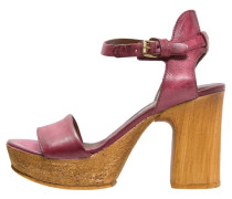 FLORIDA High Heel Sandaletten bordo