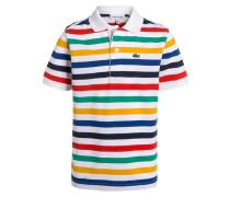 Poloshirt blanc/navire/avia