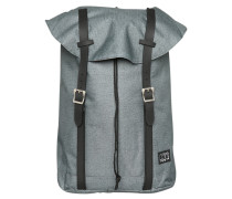 HAMPTON Tagesrucksack calssic charcoal/black
