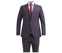 FINCH/BRAD Anzug dark red/dark prurple
