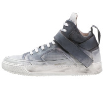 BASKET Sneaker high used asport bianco/nero