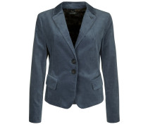 NIZZA VELVET Blazer smoke blue