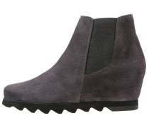 Keilstiefelette dark grey