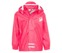 Regenjacke / wasserabweisende Jacke bright red