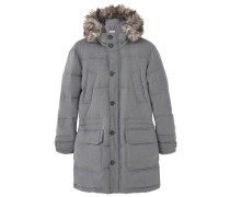 Daunenjacke metallic grey
