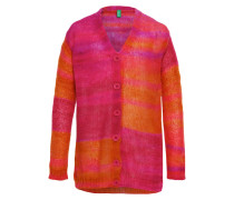 Strickjacke pink/orange