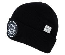 Mütze black/white