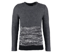 POLAR Strickpullover grey