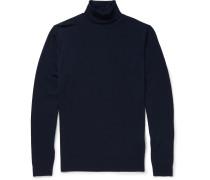 Belvoir Merino Wool Rollneck Sweater