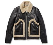 Stinger Textured-shearling Jacket