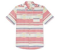 Coast Striped Cotton Oxford Shirt